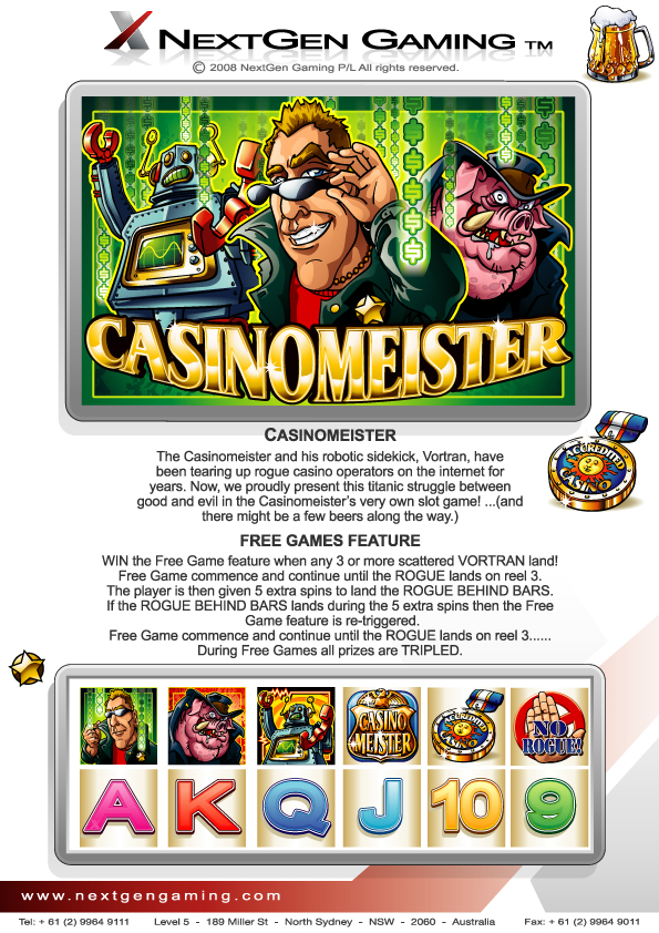 Online Slots by Casinomeister